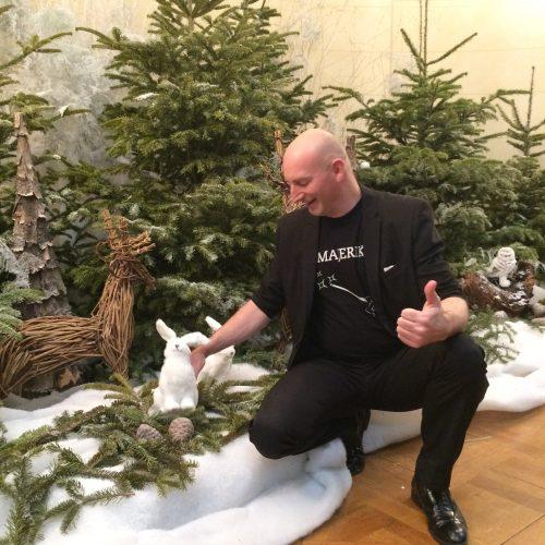 Atelier magie de Noël. Mois givré de Belfort 2018 avec Majerik Votre magicien