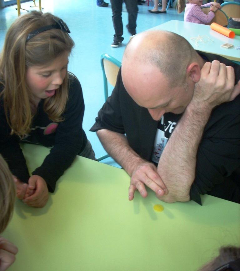 Cours de pièces atelier de magie avec Majerik. Mulhouse