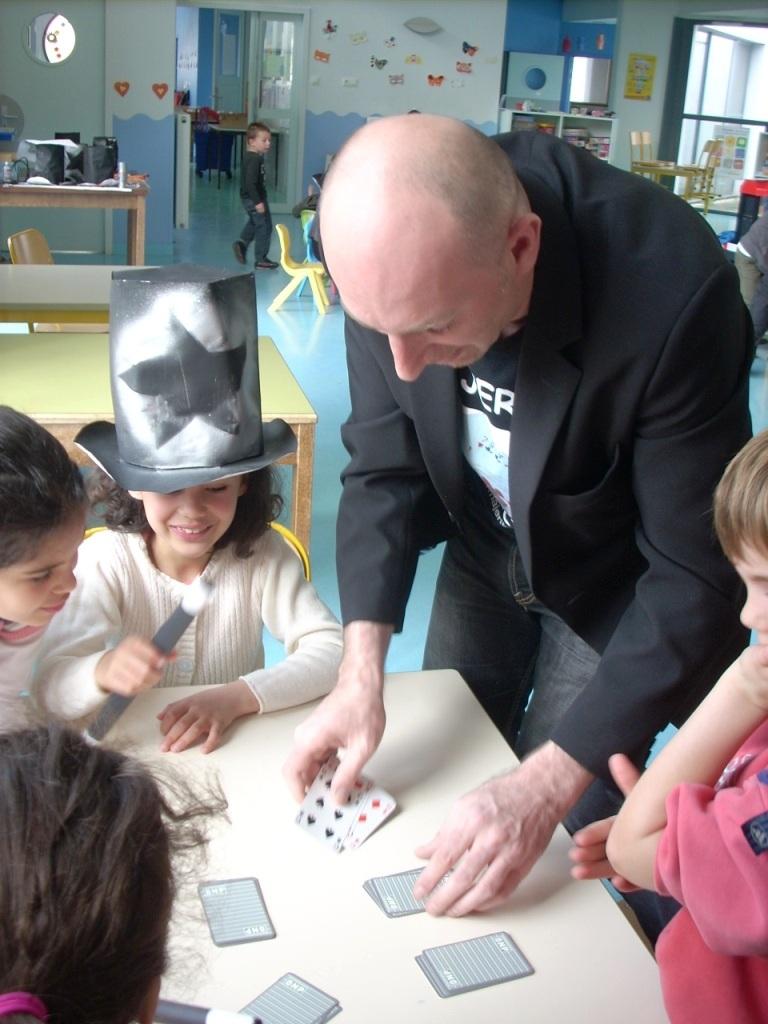 Cours de cartes atelier de magie avec Majerik. Vesoul