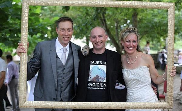 Magie cocktail mariage. Majerik Votre Magicien