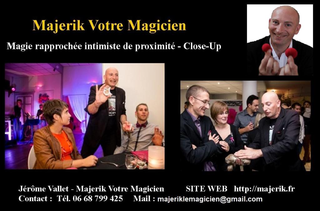 Magie rapprochée de close-up avec Majerik Votre Magicien