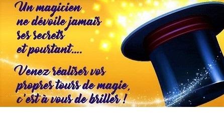 Majerik magicien Auchan Chambray octobre 2020